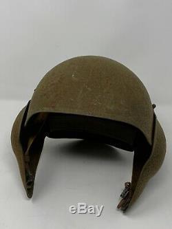Rare Original Vintage WW2 U. S. Army Air Forces (AAF) M5 Flak Helmet with Liner