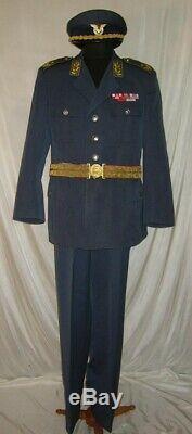 RareYugoslavia Serbia communist army General Parade Dress Uniform Air force Full