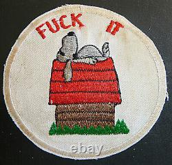 SNOOPY SAY'S Patch RnR SAIGON US ARMY / AIR FORCE Vietnam War 9229