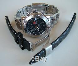 SUPER RaRe SWISS ARMY F/A-18 AIR FORCE CHRONOGRAPH AUTOMATIC 7750 VALJOUX+Xtras
