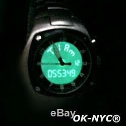 SWISS ARMY Hunter Mach 3 Chrono AIR FORCE Watch SAPPHIRE Back Light Quartz
