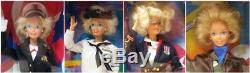 Special Edition Marine Corps Navy Army And Air Force Stars N Stripes Barbie Lot