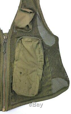 Sru-21/p Usaf Survival Pilots Vest Military Aircraft Helicopter Aircrew Us Army