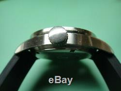 Swiss Army Airforce 1/10 sec split chronograph, 27-jewel ETA 251.262, black dial