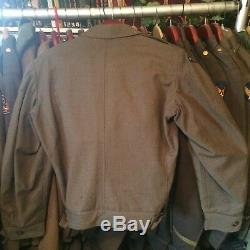 Transitional Wwii Army Air Corps 5th Air Force Ike Jacket Rare