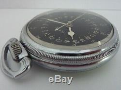U. S. Army Air Force Master Navigation Watch 4992B Hamilton 22j SHARP Condition