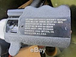 U. S. Army Air Forces Aircraft Sextant Type No A-8A