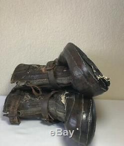 US Air Force Army A-6 Sheep Skin Boots Size Medium CONVERSE Flight Combat WWII