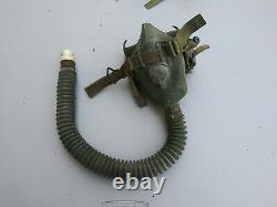 US Army MS-22001 Oxygen Mask Size Medium USA Stamped Dated 1958/59/60