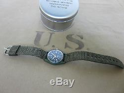 US Army Vietnam Watch Armbanduhr Mechanic Wristwatch Wind up NAM USMC Airforce