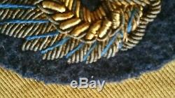 US MILITARIA WW2 US 8th Army Air Force AAF Lot with Theater-Made Bullion Insignia