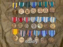 US Military Medal Lot, Vietnam Modern, War On Terror US Army US Navy Air Force