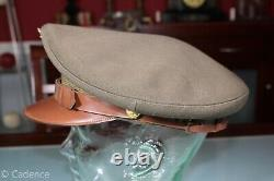 US WW2 Army USAAF Air Force Officer's Crusher Style SILVERWOODS! Visor Hat Cap