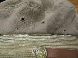 USAAF Army Air Force FLIGHTER Real Crusher Visor Hat Cap