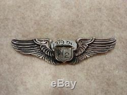 USAAF WWII Army Air Force Womans Air Service Wasp 319th W 2 Class Pilot Wing