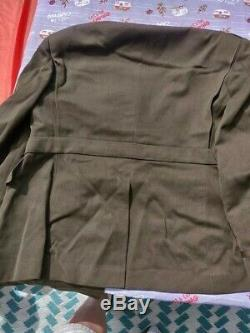 Us Army Air Forces Usaaf Aac Officers Od Wool Gabardine Dress Jacket Coat 46l