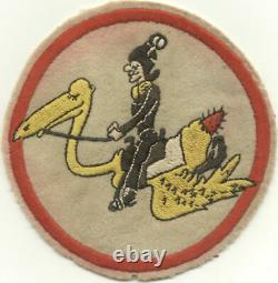 Very Rare WWII Army Air Force AAF Small Unit Patch, Named