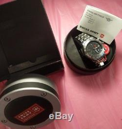 Victorinox Swiss Army Air Force 9G automatic chronograph box and tags