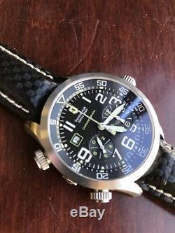 Victorinox Swiss Army Air Force Air Boss Airboss Mach 3 Chronograph Watch