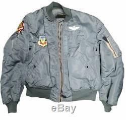 Vietnam War U. S. Air Force Us Army MA1 Flight Jacket (949HWS-J)