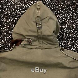 Vintage 40s US WW2 Army Air Forces Type B-9 Heavy Flight Jacket Size S Fit well