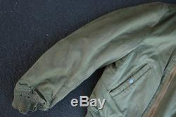 Vintage 40s USAF Army Air Forces Type B-15 Flight Jacket WW2 WWII Bobrich Corp