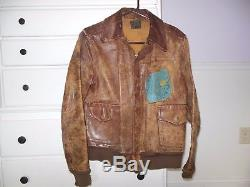 Vintage Authentic Wwii Bomber Jacket 482nd Army Air Force 8th Air Force