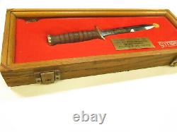 Vintage Camillus D-Day 1944 Commemorative Army Air Force USM3 Trench Knife