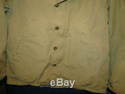 Vintage Original WW2 US Army Air Force M-41 Field Jacket Uniform Sz 36 -38