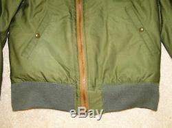 Vintage Original Ww2 Us Army Air Forces Usaaf Flight Jacket B-10 B15 Size. 38