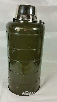 Vintage Stanley Landers, Frary & Clark USA ARMY AIR FORCES MILITARY THERMOS