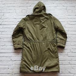 Vintage USAF US Army Air Force B-9 Parka Jacket Size M L