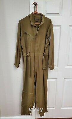 Vintage WW2 Type A-4 Drawing Air Force U. S. Army Flight Suit Size 40