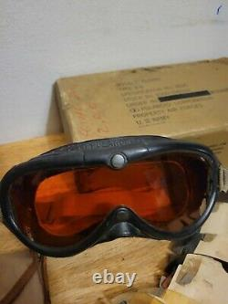 Vintage WW2 US Army Military Air Force B-8 Flying Goggles