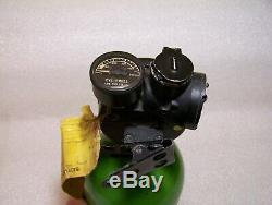Vintage WWII Army Air Force MSA Breathing Oxygen withRegulator Scott Aviation Corp
