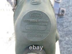 Vintage WWII US Army Air Forces Acushnet A-10A A10A Demand Oxygen Mask Medium