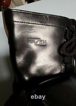 Vintage leather zip up military corcoran boots READ DESCRIPTIONS