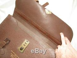 Vtg 40s WW2 Case Navigation Dead Reckoning Type A-4 Army Air Force Leather WWII