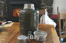 Vtg Stanley Landers, Frary & Clark USA ARMY AIR FORCES MILITARY THERMOS