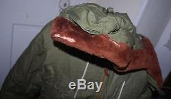 WW-II U. S. Army Air Force Jacket Winter Flying, Type, B-9 Size 40 Lined