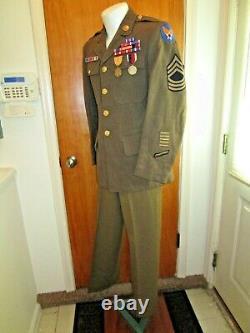 WW2, 1941, US Army Air Force, USAAF, Dress Service Uniform, Decorated