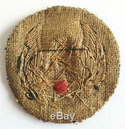 WW2 8th Army Air Force Theater made Bullion patch Scarce unusual variety