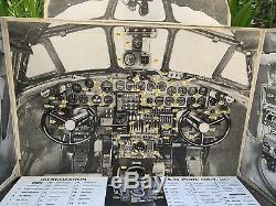 WW2 B-24 J Liberator Cardboard Cockpit Trainer Army Air Forces Training AIDS
