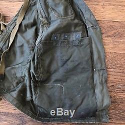 WW2 C-1 Pilot Survival Vest Army Air Force Emergency Sustenance Survival RARE