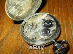 WW2 Imperial Japanese Army Airforce Seikosha Navigator Stopwatch #2 VERY NICE
