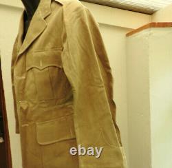 WW2 Military RAF Tropical Tunic Complete Uniform Royal Air Force Rifles Reg5271