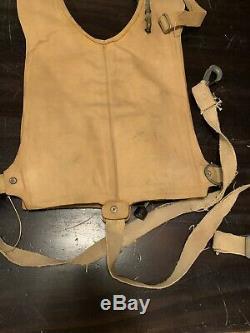 WW2 Original Pilot Paratrooper Army AirForce Mae West Life Vest 1944 Survival