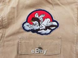 WW2 US Army AN6550 Summer Flight Suit Size 44 8th Air Force Rare