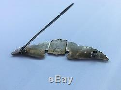 WW2 US Army Air Force Aviation Pilot Pin Badge Wings Medal