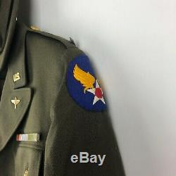 WW2 US Army Air Force Flight Nurse Uniform Jacket Skirt Cap LT WWII Named
